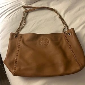 Tory Burch Tan Marion Tote